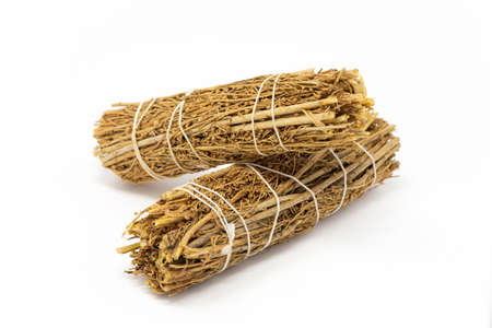 Copal Smudge Stick Sage Bundle Purification Cleansing aromatherapy isolated Banco de Imagens
