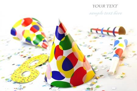 party colour Stock Photo