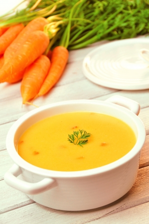 carrot soup Stock Photo - 18008040