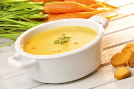 carrot soup Stock Photo - 18008039