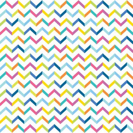 colorful chevron seamless pattern design