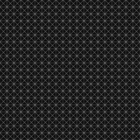 Vector seamless geometric pattern. Grid texture. Black-and-white background. Monochrome design. EPS10 vector file 向量圖像