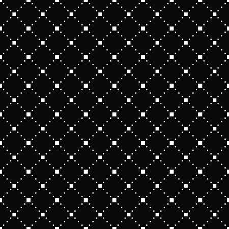 Vector seamless pattern. Simple stylish texture. Black-and-white background. Monochrome minimalistic design. EPS10 vector file