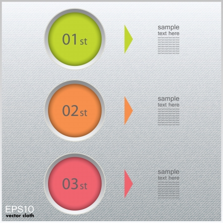 publicidad exterior: Infografics papel abstractos. Interna y el concepto de datos externo. Vectores