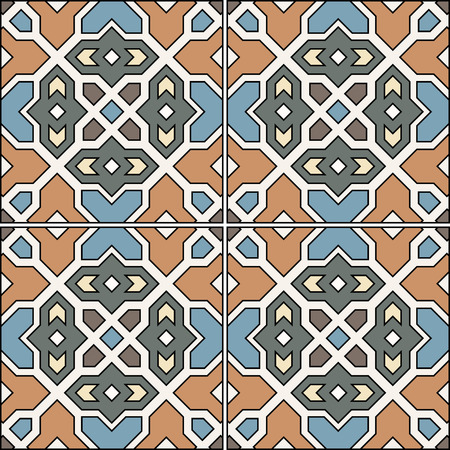 patter: Spanish traditional ornament, Mediterranean seamless patter