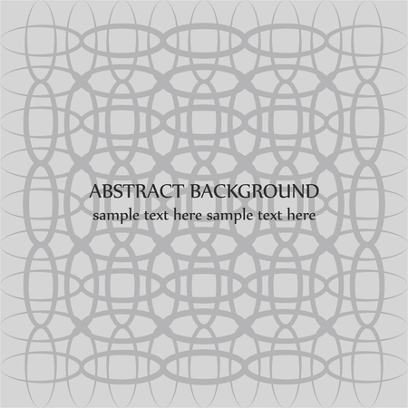 chaos order: Abstract background with symmetrical curved lines.