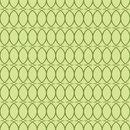 green background: Seamless green background with ovals.
