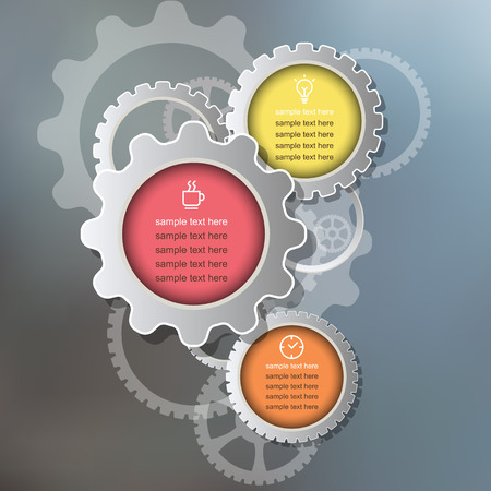 meta: abstract infographic elements. Meta ball  infographics. Gears elements.