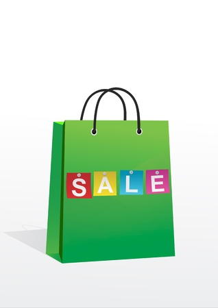a shopping bag with the inscription sale photo