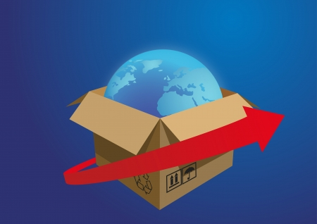 delivery of cargo Stock Photo - 17310176