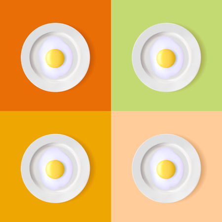 plate: eggs on a plate