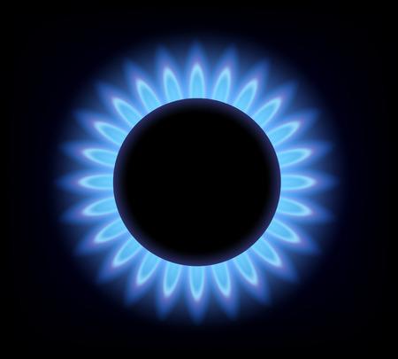 gas burner Vector