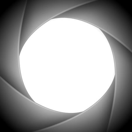 abstract aperture: aperture camera Illustration