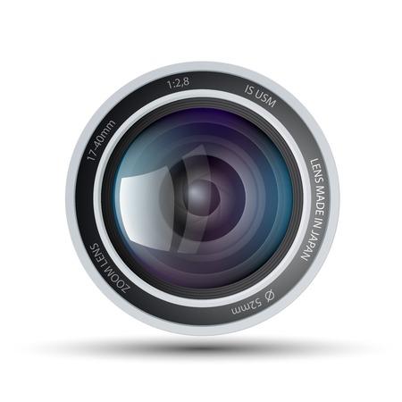 color digital camera: camera lens