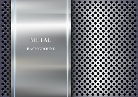 steel plate: metal background