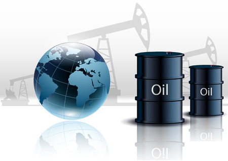 Pompe à huile plate-forme pétrolière énergie machine, industriel et de barils de pétrole
