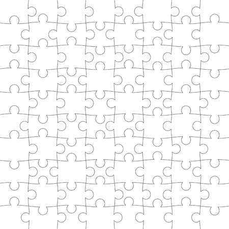 missing link: vector texture of the puzzle