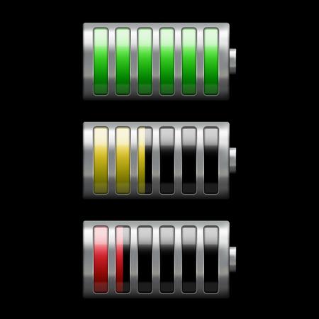 lading: batterij opladen Stock Illustratie