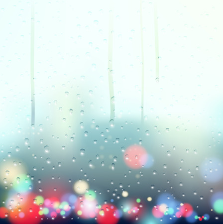 rain window: drops on the window