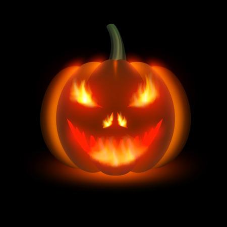 hollows: Halloween pumpkin Illustration