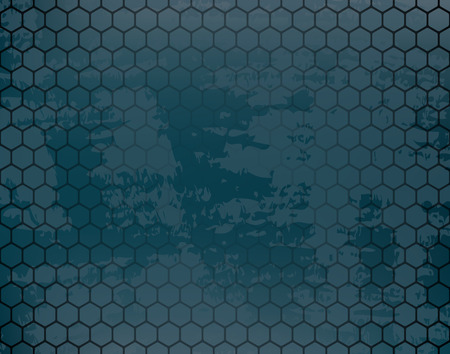 consists: background consists of a honeycomb Illustration