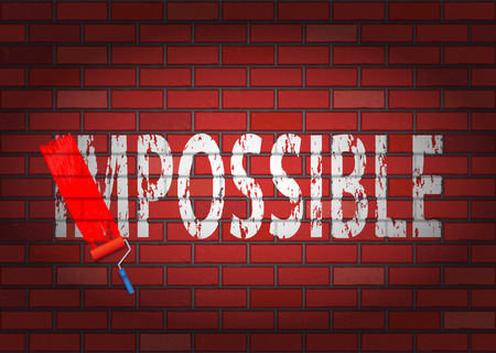 breakthrough: Changing the word impossible to possible