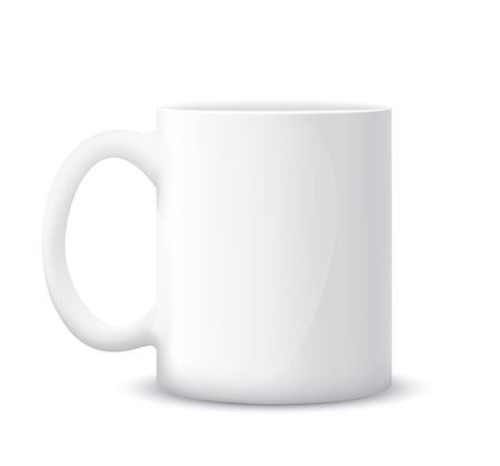 la taza blanca