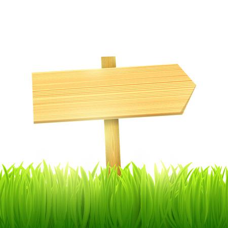 indice delle sezioni di legno Vettoriali