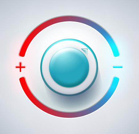 レベルコント ローラー  イラスト・ベクター素材