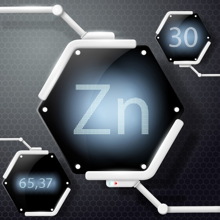 isotope: chemical element zinc