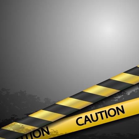 warning tape: warning tape Illustration