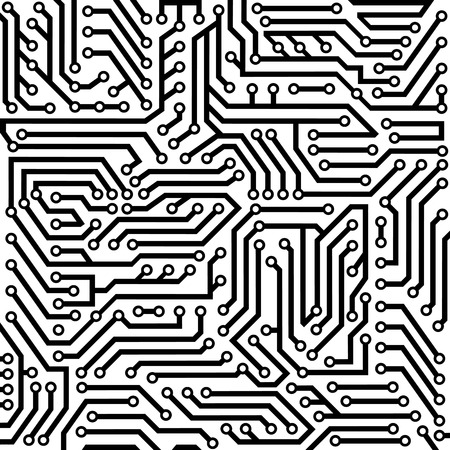 circuitry: background consisting of a chip Illustration
