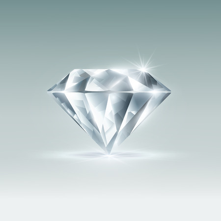 Vector diamond Ilustrace