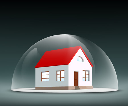 insurance protection: House under the dome