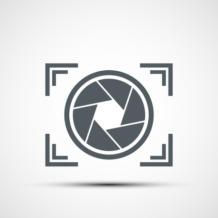 Vector icône caméra Banque d'images - 36947935