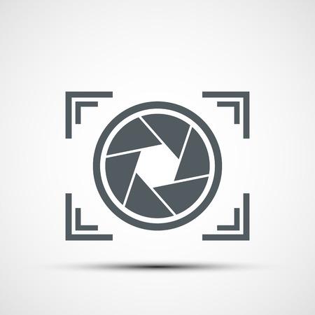 camera icon set: Vector icon camera