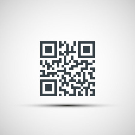 Vector icons qr code Illustration