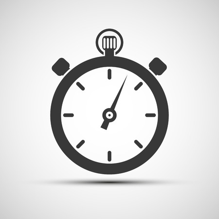 stopwatch: Vector icons of sports stopwatch Illustration