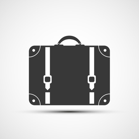 travel suitcase: Vector icons suitcase