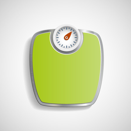 Scales for weighing. Vector image. Vector