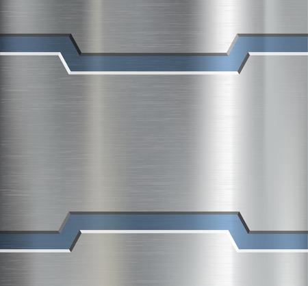 飾りの金属板。ベクター画像。  イラスト・ベクター素材
