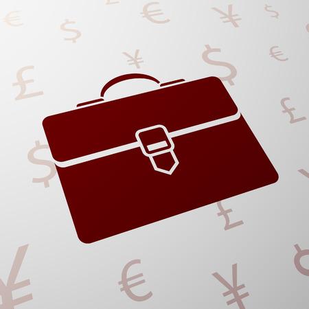 briefcase: Briefcase illustration