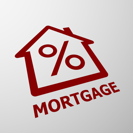 Logo of mortgage Stock Vector - 47189101