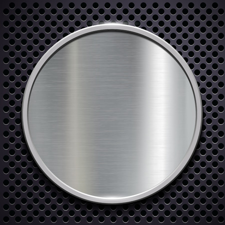 polished: Steel round polished plate