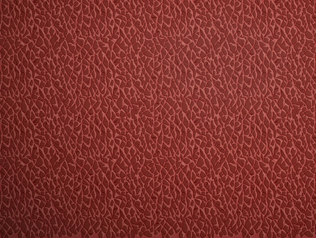 pigskin: Texture of red leather Illustration