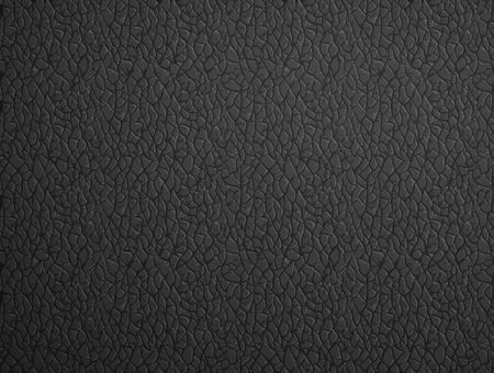 black leather: Texture of of black leather