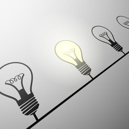 circuito electrico: Circuito eléctrico de las lámparas incandescentes