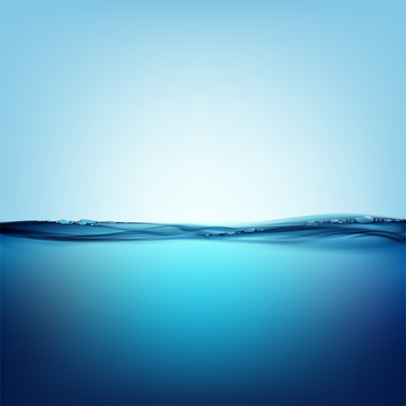 Gladde wateroppervlak - Natuurlijke achtergrond