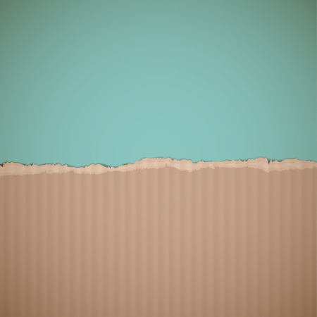 packing material: Texture of cardboard. Retro background. Illustration