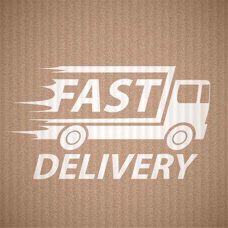 fast: Delivery of cargo. Fast shipping.